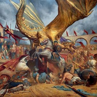 The Court of The Dragon Portada